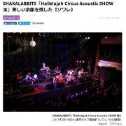 DI:GA online SHAKALABBITS ライブレポート